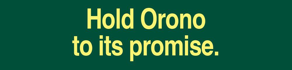 Hold Orono